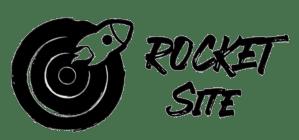 Logo de Rocketsite, société de création de site internet